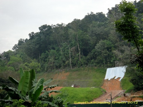 Save Bukit Gasing Back (Mon. 12 Mar 2012).
